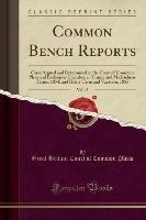 Pleas, G: Common Bench Reports, Vol. 15