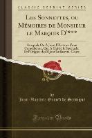 Servigné, J: Sonnettes, ou Mémoires de Monsieur le Marquis D