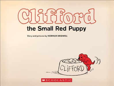Clifford The Small Red Dog