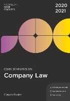 Core Statutes on Company Law 2020-21