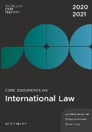 Core Documents on International Law 2020-21