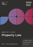 Core Statutes on Property Law 2020-21