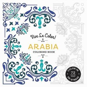 Abrams Noterie: Vive Le Color! Arabia (Adult Coloring Book)