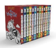 Diary of a Wimpy Kid Box of Books (1-13)