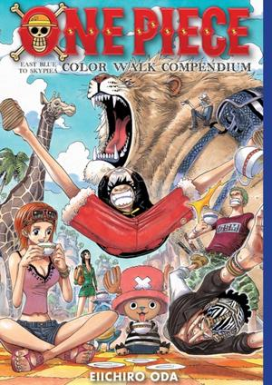 One Piece Color Walk Compendium: East Blue To Skypiea