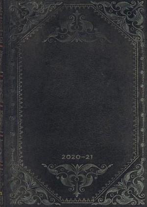 Paperblanks Diary Midi Midnight Rebel Bold 18 maanden 2020-2021 agenda