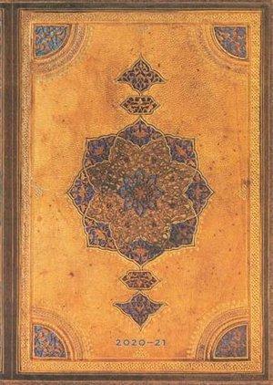 Paperblanks Diary Midi Safavid 18 maanden 2020-2021 agenda