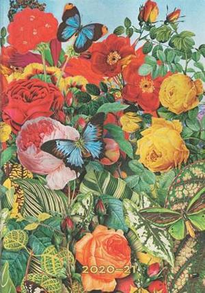 Paperblanks Flexi Diary Midi Butterfly Garden 18 maanden 2020-2021 agenda