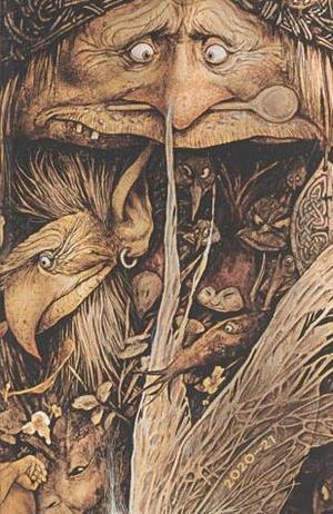 Paperblanks Flexi Diary Maxi Mischievous Creatures 18 maanden 2020-2021 agenda