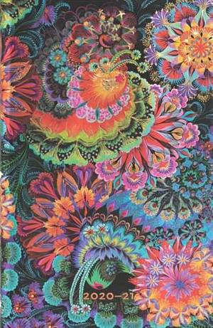 Paperblanks Flexi Diary maxi Olena's garden 18 maanden 2020-2021 agenda