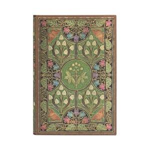 Paperblanks Diary Mini Horizontal Poetry in Bloom 18 maanden 2021-2022 agenda
