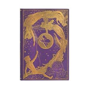 Paperblanks Diary Mini Horizontal Violet Fairy 18 maanden 2021-2022 agenda