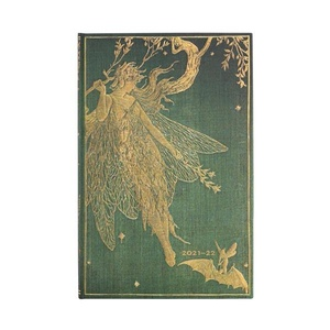 Paperblanks Diary Maxi Vertical Olive Fairy 18 maanden 2021-2022 agenda