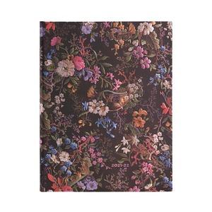 Paperblanks Diary Ultra Vertical Floralia 18 maanden 2021-2022 agenda