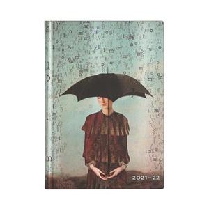 Paperblanks Flexi Diary Midi Horizontal Wordscapes 18 maanden 2021-2022agenda