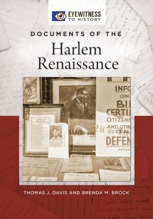 Documents Of The Harlem Renaissance