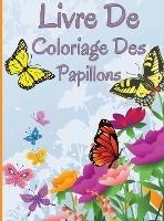 Livre de coloriage des papillons