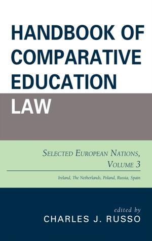 Handbook Of Comparative Education Law