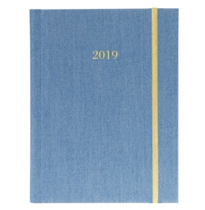 CHAMBRAY 2019 FABRIC HARBOUND DIARY