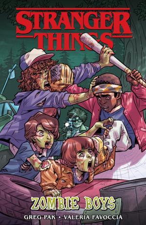 Stranger Things: Zombie Boys (graphic Novel)