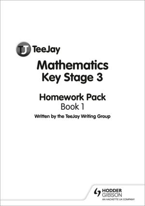 Teejay Mathematics Key Stage 3 Book 1 Homework Pack