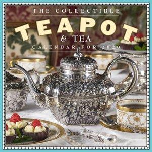 2020 the Collectible Teapot & Tea Wall Calendar