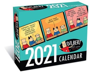Dilbert Day-to-day Kalender 2021
