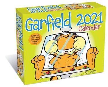 Garfield Day-to-day Kalendar 2021