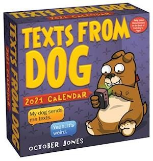 Texts From Dog Day-to-day Kalender 2021