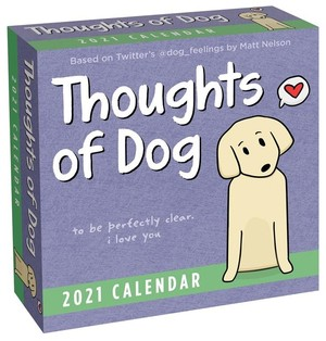 Thoughts Of Dog Day-to-day Kalender 2021