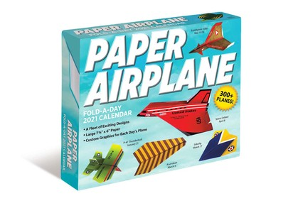 Paper Airplane Fold-a-day Kalender 2021