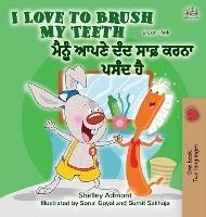 I Love To Brush My Teeth (english Punjabi Bilingual Book - India)