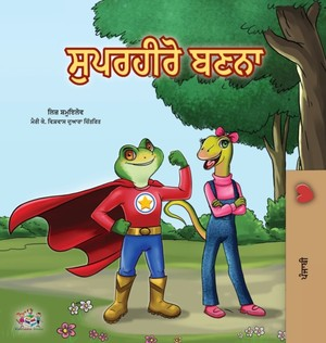 Being A Superhero (punjabi Book For Kids -india)