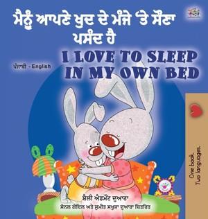 I Love To Sleep In My Own Bed (punjabi English Bilingual Children's Book - India)