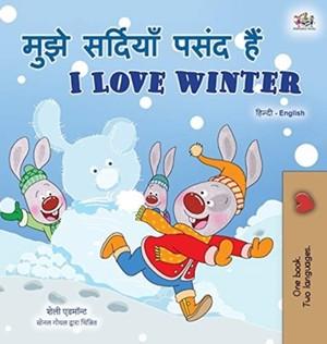 I Love Winter (hindi English Bilingual Book For Kids)