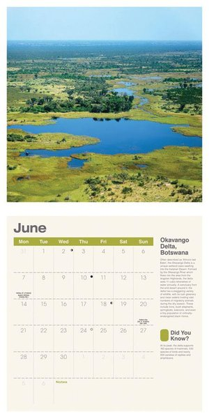 Amazing Planet Square Wall Calendar 2021