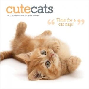 Cute Cats Square Wall Calendar 2021