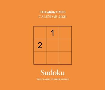Sudoku The Times Box Deskkalender 2021