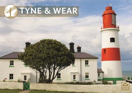 Tyne & Wear A4 Calendar 2021