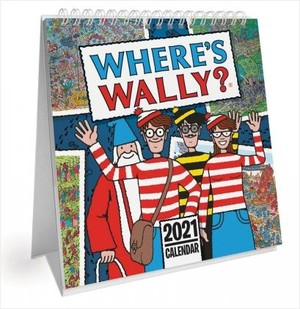 Where's Wally Desk Kalender 2021