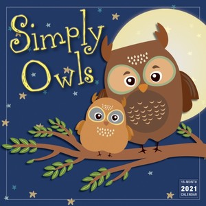 Simply Owls 2021 Calendar