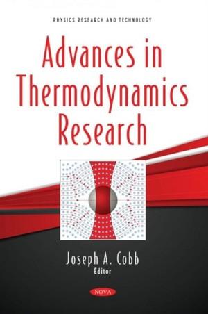 Advances in Thermodynamics Research