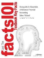 Studyguide For Essentials Of Advanced Financial Accounting By Baker, Richard, Isbn 9780077505264