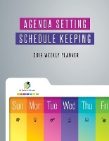 Agenda Setting Schedule Keeping 2019 Weekly Planner