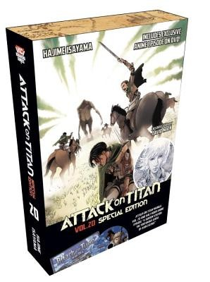Attack on Titan 20 Manga Special Edition W/DVD [With DVD]