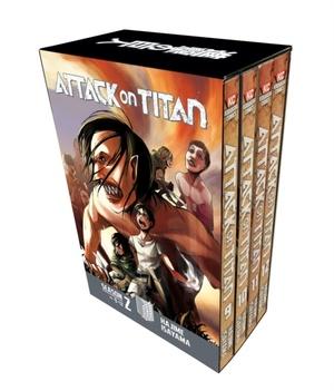 Attack On Titan Season 2 Manga Box Set