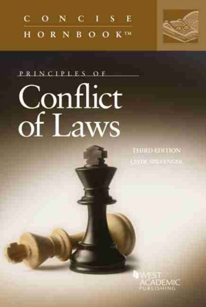 Principles Of Conflict Of Laws