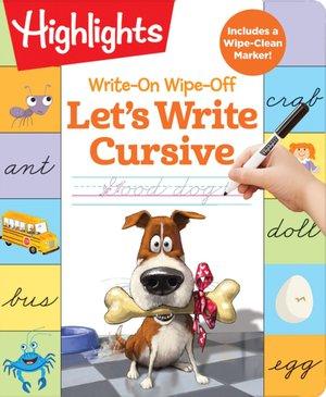 Write-on Wipe-off: Let's Write Cursive