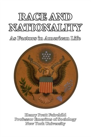 Race And Nationality As Factors In American Life