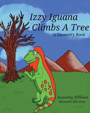 Izzy Iguana Climbs A Tree